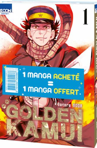 Pack offre découverte Golden Kamui T01 & T02