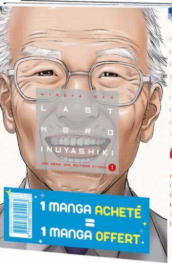 Pack offre découverte Last Hero Inuyashiki T01 & T02