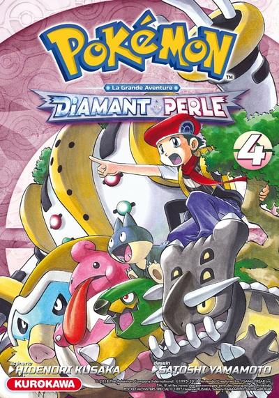 Pokémon - Diamant et Perle / Platine - tome 04