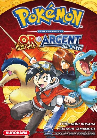 Pokémon La Grande Aventure - Or HeartGold et Argent SoulSilver
