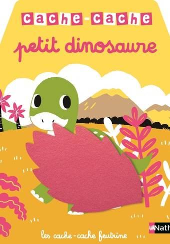 Cache cache - petit dinosaure - Livre à toucher dès 6 mois