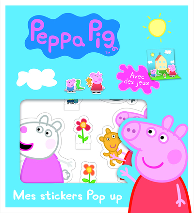Peppa Pig - Mes stickers Pop Up
