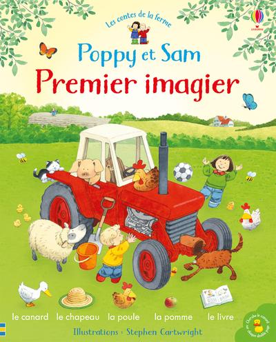 Poppy et Sam - Premier imagier - Les contes de la  ferme