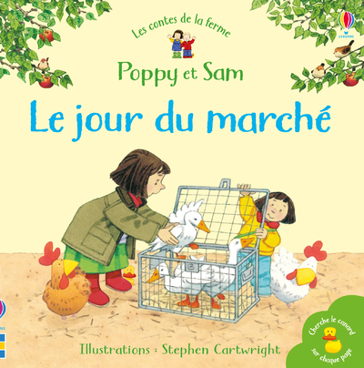 Le jour du marché - Poppy et Sam - Les contes de la ferme