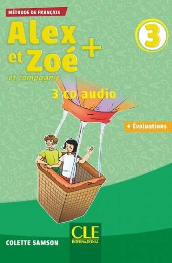 Alex et Zoé + - Niveau 3 - CD audio collectif