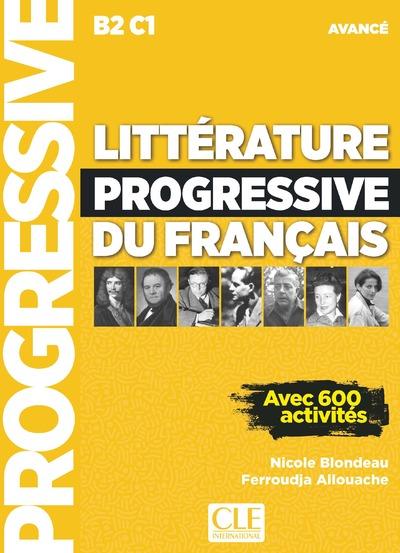 Littérature progressive du français - Niveau avancé - Livre - Nouvelle couverture