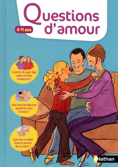 En 100 questions, cet ouvrage répond aux préoccupations et aux attentes des 8-11 ans. Pour comprendre les histoires d'amour des adultes, le déroulement de la grossesse, découvrir son corps, se rassurer sur les changements qui s'annoncent...