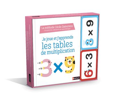 Je joue j'apprends - Les tables de multiplication - Dès 6 ans