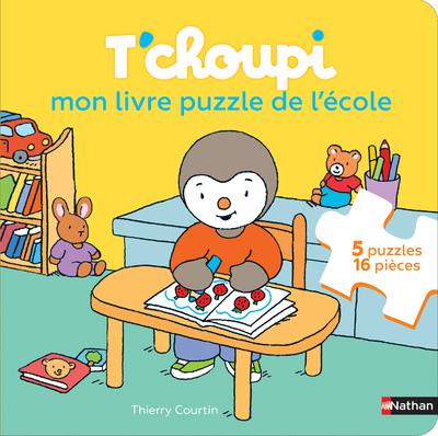 T'choupi, mon livre Puzzle de l'école - Dès 2 ans