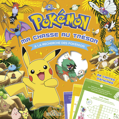 Pokémon - Ma chasse au trésor - À la recherche des Pokémon