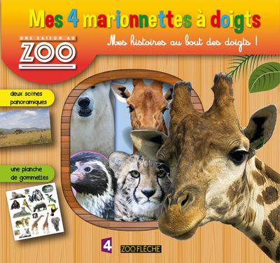 Une Saison au zoo - Mes 4 marionnettes à doigts
