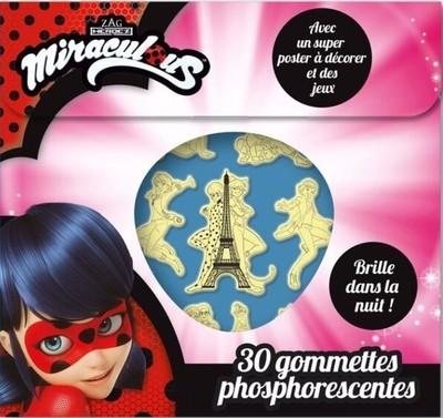 Miraculous - 30 Gommettes phosphorescentes