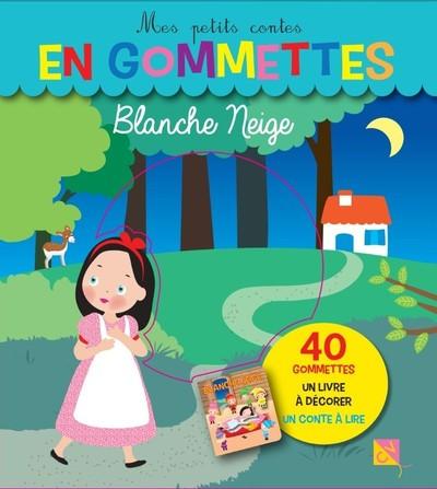 Blanche neige - Mes petits contes en gommettes - 40 gommettes