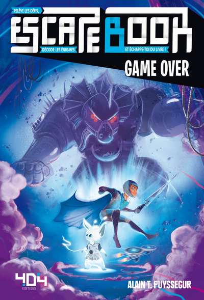 Escape Book – Game Over