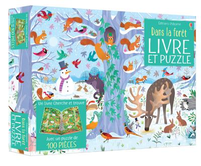 Coffret Dans la forêt (livre et puzzle)