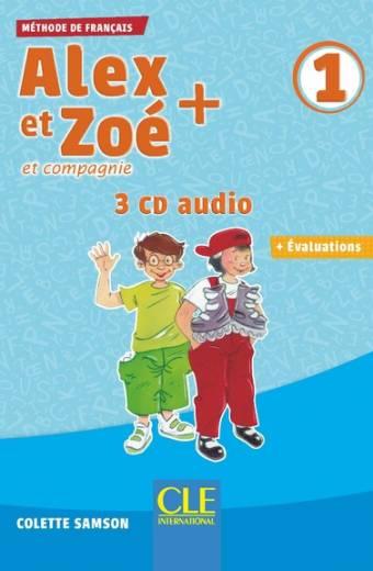 Alex et Zoé + - Niveau 1 - CD audio collectif