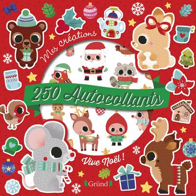 250 autocollants - Vive Noël !