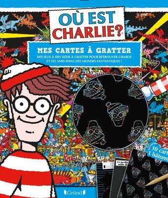 Où est Charlie ? - Cartes à gratter - Dans des mondes fantastiques