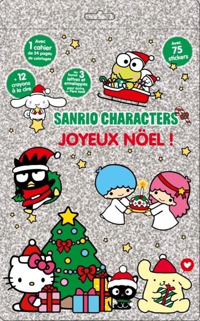 Sanrio Characters - Lettre au Père Noël - Joyeux noël - Ma pochette cadeaux