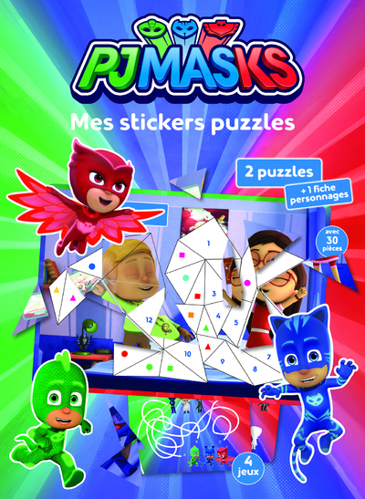 Pjmasks - Mes stickers puzzles