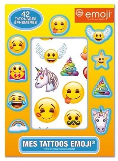 Emoji - Mes tattoos - 42 tatouages éphémères