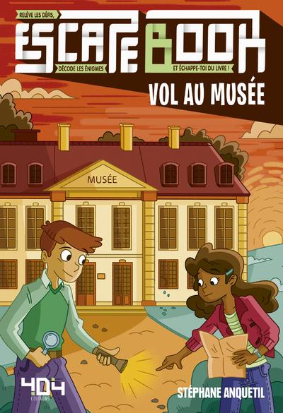 Escape book enfant - Vol au musée