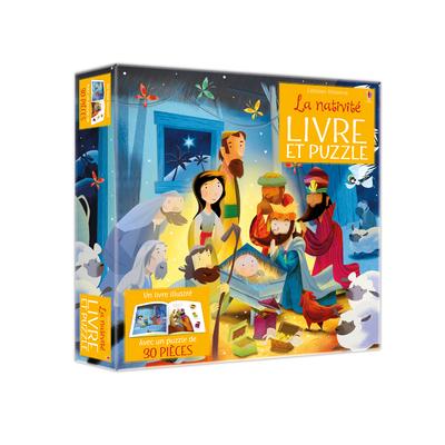 Coffret La Nativité (Livre et puzzle)