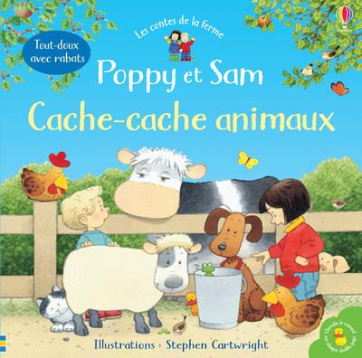 Poppy et Sam - Cache-cache animaux - Les contes de la ferme