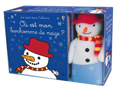 Coffret Où est mon bonhomme de neige ? - Livre et  peluche