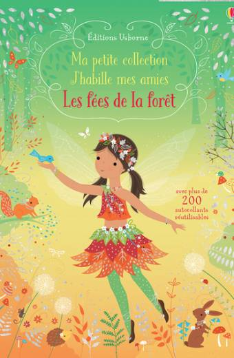 Les fées de la forêt - Ma petite collection - J'habille mes amies