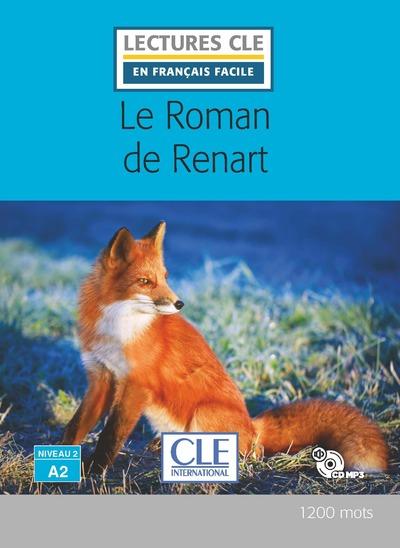 Le roman de renart - Niveau 2/A2 - Lecture CLE en français facile - Livre + CD