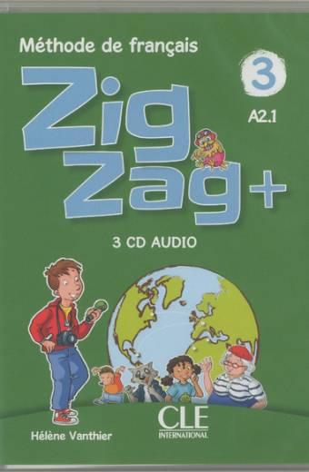 Zigzag plus Zigzag + - Niveau 3 - CD audio collectifs