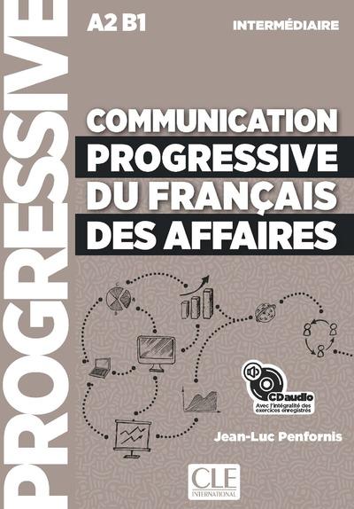 Communication progressive du français des affaires - Niveau intermédiaire - CD audio - Nouvelle couverture