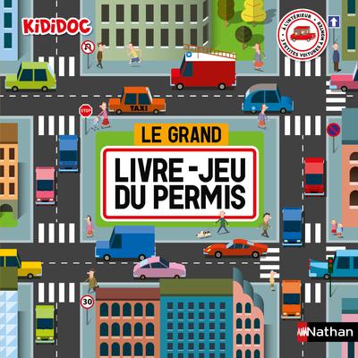 Le Grand livre jeu du Permis - Livre Pop-up Kididoc - Dès 4 ans
