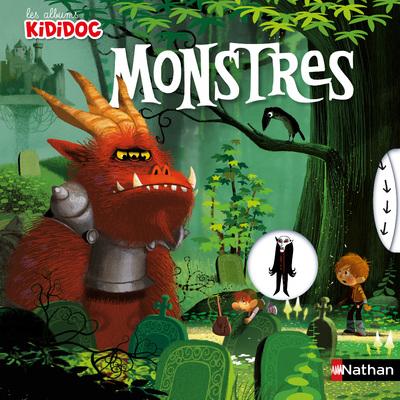 Le grand livre Pop-up des Monstres - livre animé kididoc - dès 4 ans