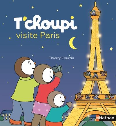 T'choupi visite Paris - Grand album dès 2 ans