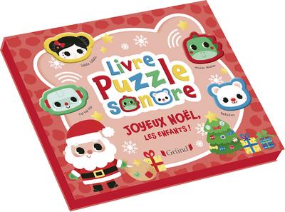 Livre Puzzle sonore - Joyeux Noël, les enfants !