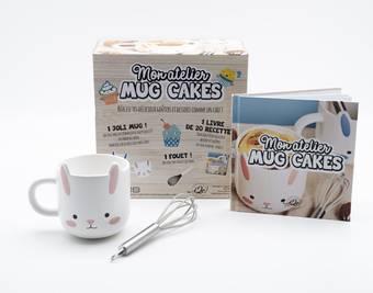 Coffret Rose Mon atelier Mug Cake