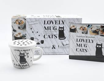 Coffret Lovely mug cat