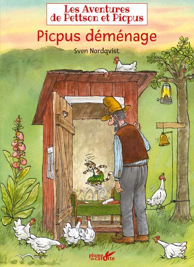 Les aventures de Pettson et Picpus - Picpus déménage