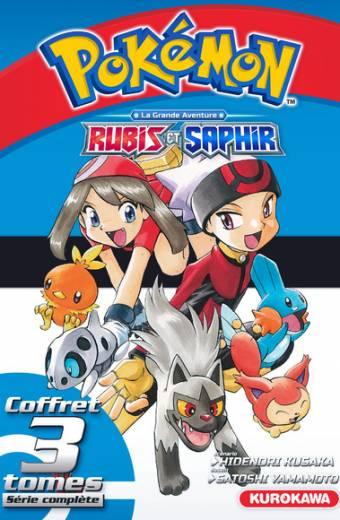 Coffret Pokémon Rubis et Saphir 1-2-3