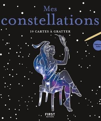 Cartes à gratter - Constellations