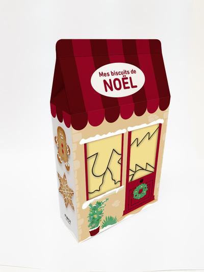 Mes biscuits de Noël - 4 emporte-pièces + 1 livre de recettes