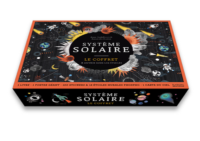 Système solaire - Le coffret à ouvrir sous les étoiles