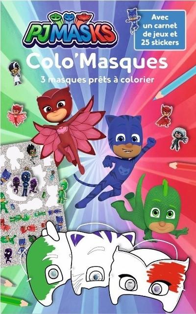 Pjmasks - Colo'Masques