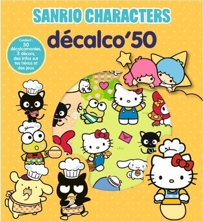 Sanrio Characters - Décalco'50