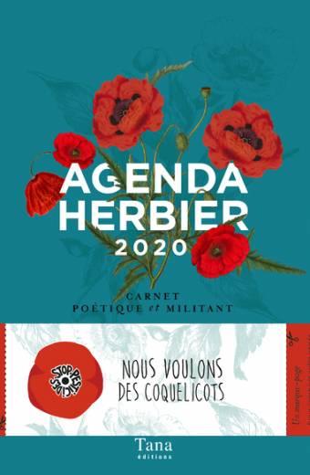Agenda Herbier 2020 - Carnet poétique et militant
