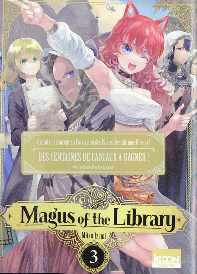 Magus of the Library T03