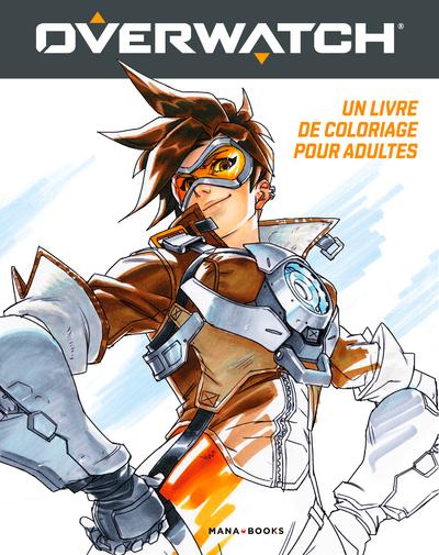Overwatch : un livre de coloriage pour adultes