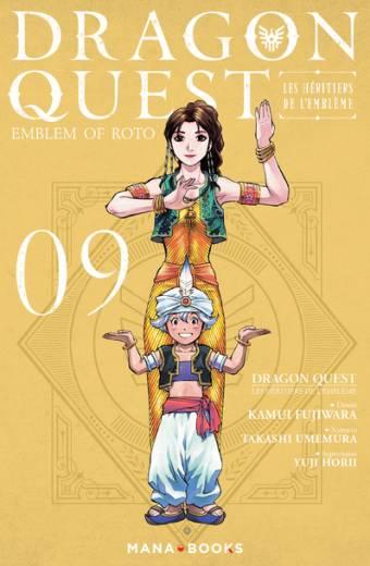 Dragon Quest - Les Héritiers de l'emblème T09